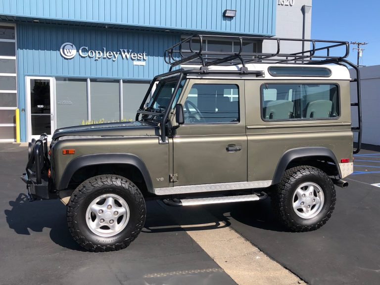1997 Land Rover NAS Defender 90 LE Willow Edition