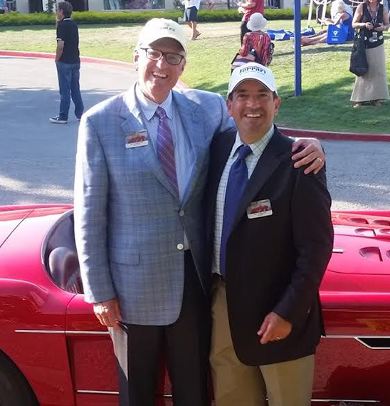Stu and Pat of Copley Motorcars
