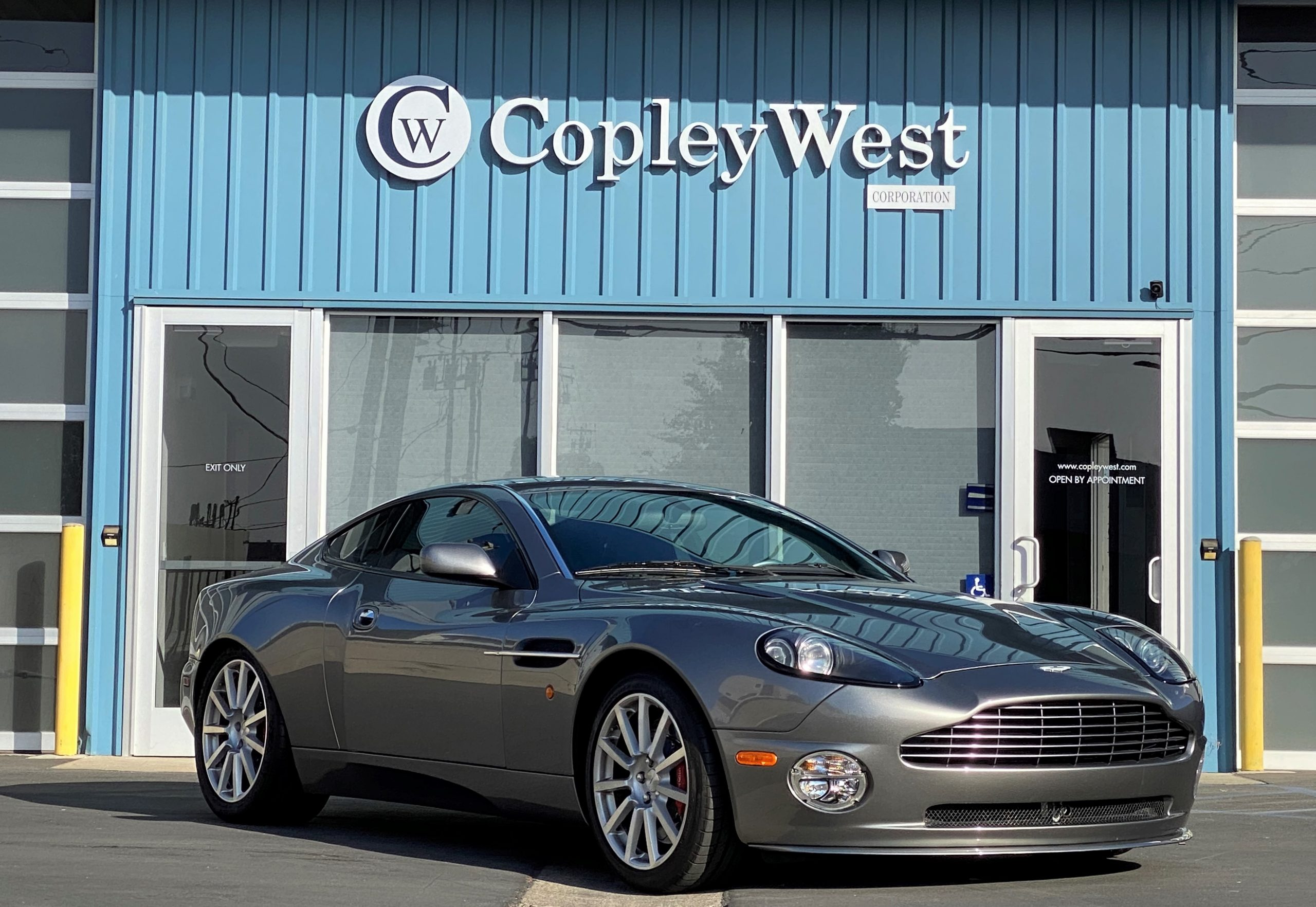 2005 Aston Martin Vanquish S For Sale Copleywest Corporation Vintage Collector Sports Car Boutique Dealership